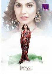 Shangrila Inox Vol-7 Pure Weightless Printed Saree