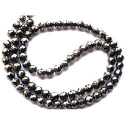 HRB Exports Jet Black Diamond Beads