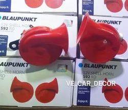 Red Gloss Colour Blaupunkt Car Horn
