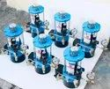 24 V DC/ Battery Operated Grease Lubricators With Pressure Guage And Relief Valve.
