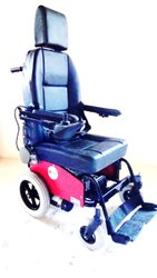 Deluxe Wheelchair Motorized