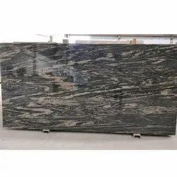 Polished Black Markino Granite Stone, For Flooring, Thickness: 15-20 mm