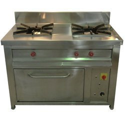 2 Burner Gas Range with Oven