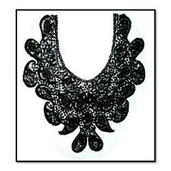 Designer Black Necklines