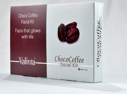 Valinta Silver Choco- Coffee Facial Kit, for Parlour