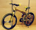 Audi Golden Foldable Cycle