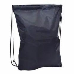 Adjustable Strap Plain Black Dori Bag