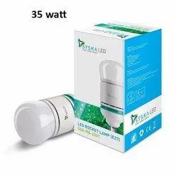 Syska Max Glow 35 Watt Rocket Bulb for Indoor