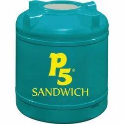 P5 Sandwich Plastic Water Tank