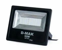 D''Mak 50 W Slim LED Flood Light