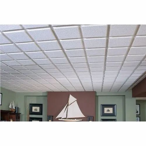 Asbestos Cement Armstrong Fiber Ceiling Tiles, Rs 250 ...