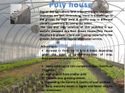 Poly House Structure