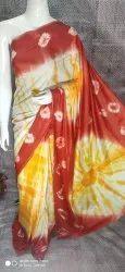 Shibhori Printed Katan Silk Sarees