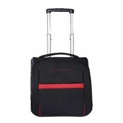 Handcuff Black Luggage Trolley Bag
