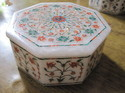Octagon Marble  Box