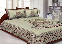 beautiful jaipuri cotton double bed sheet