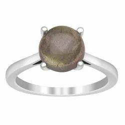 Beautiful Labradorite 2.00 Ctw Gemstone 925 Sterling Silver Dainty Stacking Ring