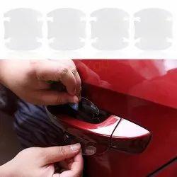 5PC. Car Handle Scratch Protector Transparent Sticker Film Car Accessories