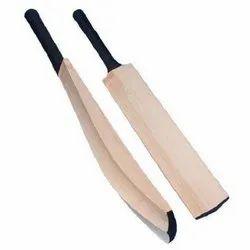 Short Handle Natural GSE Kashmir Willow Cricket Bat Double Blade Full Cane Handel, Bat Size: Standard