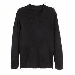 Black Housekeeping Uniform Sweater