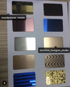 PVD Ti Coated Stainless Steel Sheets
