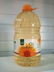 Ukraine Mono Saturated Sunflower Seed Oil 5 Litre, Packaging Type: Plastic Bottle