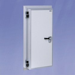 Mild Steel Cold Room Flush Door, Coated