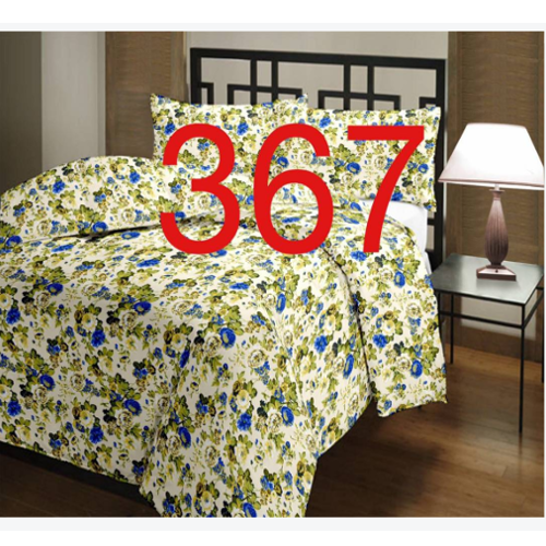 Multi Colored Cotton Bed Sheets