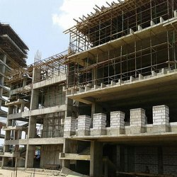 Concrete Frame Structures Commercial Projects Showroom Construction Service