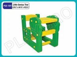 Plastic Yellow And Green Nursery School Little Genius Tree