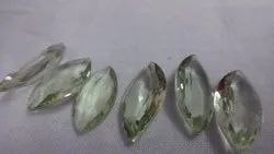 Green Amethyst Marquise Cut Stone Shape Calibrated Faceted Loose Gemstone, 3x6mm To 7x14mm