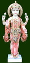 Marble Laxmi Statue In Standing Pose