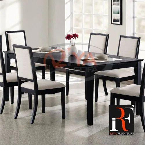 Riya Sofa Modern 6 Seater Wooden Dining