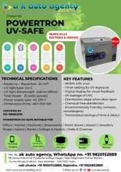 Powertron UV Safe Disinfection Machine - 40 Litre (With Timer)