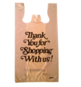 Multi Color Custom Printed T-shirt Bags, Bag Size (inches): 10 X 15 Inches - 30 X 40 Inches