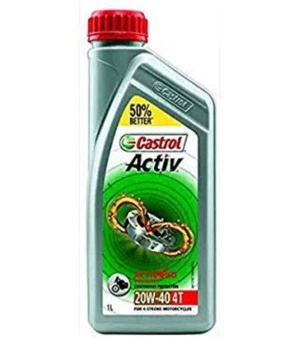 Light Vehicle Castrol Activ Oil 20W40 4T, Premier