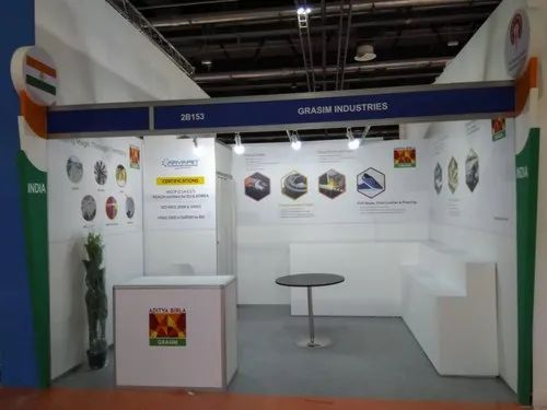 Exhibition Stand Quotation Format : Exhibition stand construction एक्सहिबिशन स्टॉल