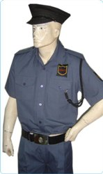 Grey Security Guard Uniforms
