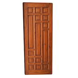 Solid Wooden Panel Door