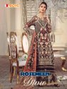 Party Wear 5 Color Fepic Georgette Pakistani Salwar Suit, Size: Unstitched