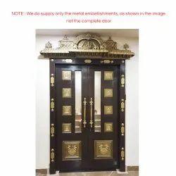 Traditional Pooja Room Door
