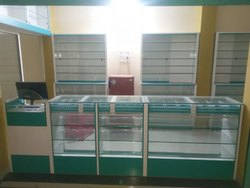 Medical Shop Racks