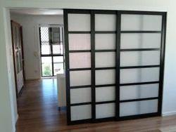 Glass, Aluminium Self Closing Sliding Door, Exterior, Interior, for Commercial, Home
