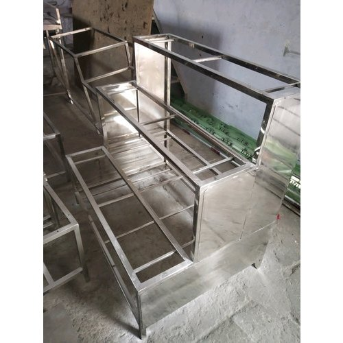Rs Steel Stainless Steel SS Counter