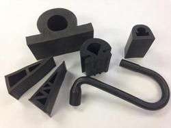 Shakti Black Rubber Extruded Section