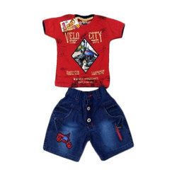 Cotton Boys Summer Dress Set
