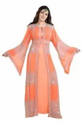 DUBAI JALABIYA KAFTAN PARTY MAXI DRESS