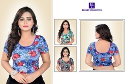 Readymade Blouse with digital print
