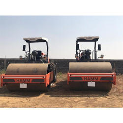 Single Drum Soil Compactor Rental Service