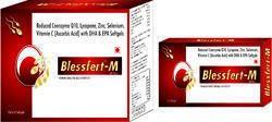 Reduced Coenzyme Q10 Lycopene Zinc Selenium Vitamin C (Ascorbic Acid) with DHA & EPA Softgels